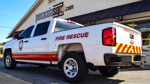 100 Fire Truck Graphics Pensacola Sign Vehicle Vehicle Wraps