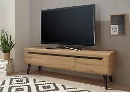 lowboard tv schrank fernsehtisch torge 160cm artisan eiche schwarz modern