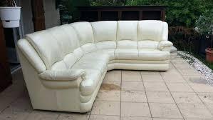 canap d angle en cuir blanc canape d angle cuir blanc 5 6 places occasion canape angle cuir