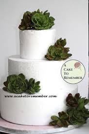 Gumpaste Succulent Cake Topper For Wedding Cakes Edible Succulents Sugar Flowers Rustic