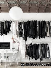How My Closet Looks Black And White Every Day