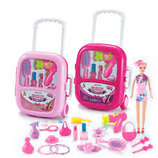 24Pcs Pretend Play Cosmetic Makeup Toy Set Kit For Little Girls Kids