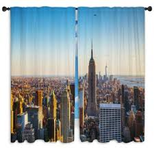 New York Custom Size Window Curtains