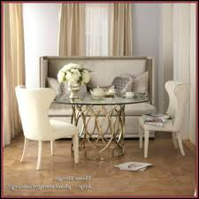 Upholstered Bench With Back Dining Room Plans