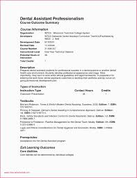 Example Resume Dental Hygiene Portfolio Examples For Assistant Student Unique
