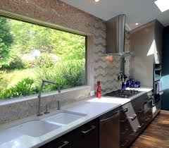 100 Countertop Glass Kitchenaftercrystalcabinetsglasstilebacksplashkohlerfaucet