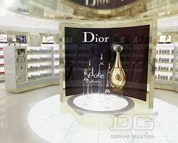 PF17 Luxury Perfume Store Display Design