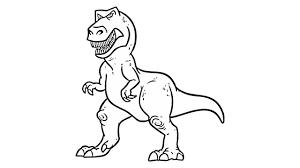 Coloriage Tyrannosaure Rex 4 T Gratuit Kinohd Info DigitalTrend