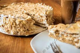 cinny home eine saure sahne torte in der cappuccino