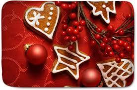 polero fußmatten weihnachten schmutzfangmatte weihnachtsmatte fußmatte für haustür wohnzimmer als weihnachtsdeko lebkuchen rot
