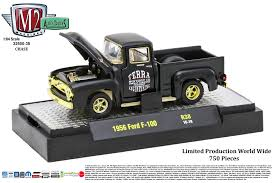 100 1956 Ford Pickup Truck M2 Machines Auto S Release 38 164 F100 CHASE