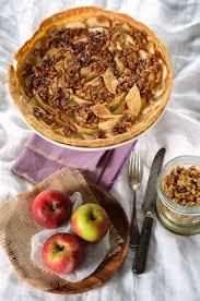 recette dessert aux pommes tarte aux pommes et noix caramélisées recette tangerine zest