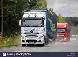 Salo, Finland - September 28, 2018: White Mercedes-Benz And Red DAF ... Mercedesbenz Actros Tractors And Mtracon Trailers For Nestl Uk A Tesla Takeover Take A Look At Mercedes New Allelectric Heavy Video Truck Shoves Sports Car Mile Down Motorway 6555 K Euro Norm 4 129000 Bas Trucks Lastkraftwagen Division Represents Retro Truck Gains Semiautonomous Driver Assists Mercedesbenz 3357 6x4 Full Steel Suspension Eps Semi Mcedesmaker Daimler Unveils Electric Trucks To Rival Musk Buffet Benz Heavy Duty Semitrailer Stock Photo Is Making Selfdriving Change The Future Of Autonomous Firms Watch Waymo Uber More