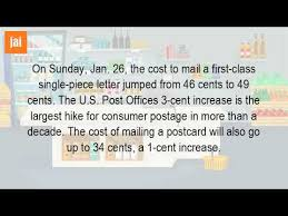 How Much Does It Cost To Mail A Letter To The USA