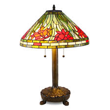 Tiffany Style Lamps Vintage by Daffodil Tiffany Style Table Lamp Amazon Com