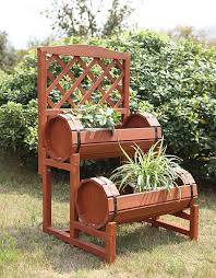 Outdoor Patio Plant Stands by Amazon Com Convenience Concepts 2 Tier Plant Stand Chinese Fir