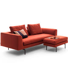 100 Cor Sofas Modular Sofa Contemporary Fabric Leather MELL LOUNGE By Jehs
