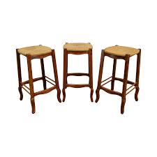 French Country Style Set Of 3 Rush Seat Bar Stools French Style Bar Stools French Country Cottage Sunny Designs Bourbon County Country Fxible Bar Handcrafted In North America Kitchen And Ding Room Canadel Ding Room Fniture Style 1825 Interiors Three Vintage White Bamboo Stools Tiki Country Pub Height Set 549 Buy 3pc Island Decor Decorating Ideas Fausto 30 Stool Trail 3 Piece Set With Bernhardt