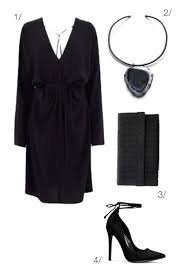 Long Sleeve Little Black Dress For A Winter Date Night Click Through Outfit