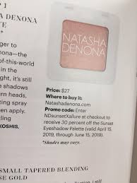 30% Off Natasha Denona Sunset Palette Code From Allure ...