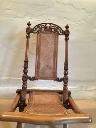 Antique Victorian Campaign Caned Folding Chair | 588279 ...