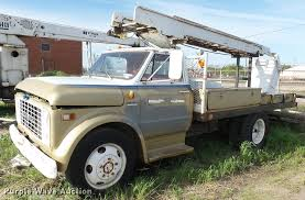 100 1970 Gmc Truck GMC 4500 Bucket Truck Item DQ9239 SOLD May 24 Vehi