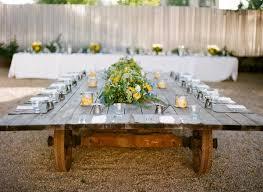 Outdoor Wedding Reception Ideas Rusitc