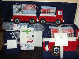 Truck Bedding Sets Firemen Fire Truck Boys Bedding Twin Quilt Set ...