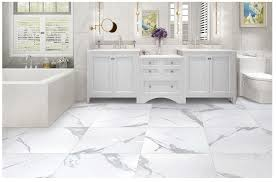 salerno porcelain tile calacatta marble series calacatta 24