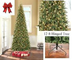 12 Ft Christmas Tree Tall Artificial Slim W Lights Stunning By Prices