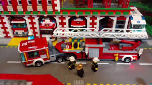 100 Model Fire Truck Kits LEGO City Engine 60112 With BrickStuff Lighting Kits YouTube