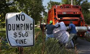 100 Garbage Trucks In Action St Louis Residents Fed Up With Citys Dumping Problem Want Action
