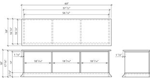 build a storage bench construction plans rona