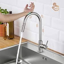 lonheo wasserhahn küche ausziehbar touch sensor mit 2