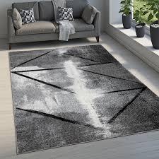 teppich esszimmer abstraktes muster farbverlauf