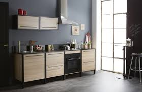 conforama cuisine electromenager cuisine cuisine plã te contemporaine chãªne brut noir kassel