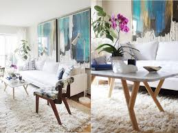 Jenna Snyder Phillips Cool Calm Living Room Abstract
