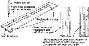 Heres A Cribbage Board Drilling Method Thats More Straightforward Than The One Offered By Charles Whitney In Fine Woodworking 92 P 20
