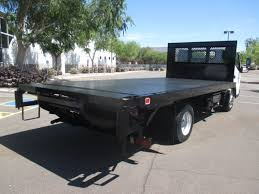 USED 2012 MITSUBISHI FUSO FE-160 FLATBED TRUCK FOR SALE IN AZ #2186
