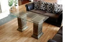 design säule couchtisch esstisch tisch esszimmer wohnzimmer 6035 neu
