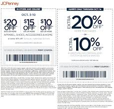 JCPenney Coupons - $10 Off $50 And More At JCPenney, Or ...