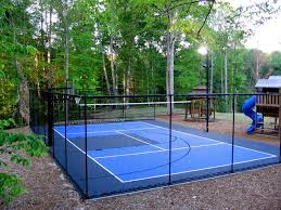 snapsports backyard home court for all sport traditional