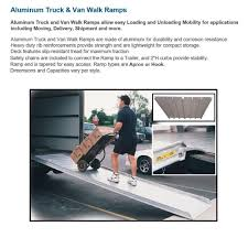 100 Heavy Duty Truck Service Ramps 39 Wide Aluminum Walk Ramp MAGLINER Ers Mall