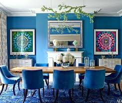 Blue Dining Room Ideas Photography Pic On Rooms Chairs