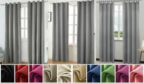 gardinen vorhänge fürs schlafzimmer verdunkelung ösen