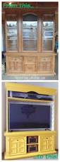 Shabby Chic Dining Room Hutch by Before And After Dining Hutch U0026 Desk Repurpose Grandmothers