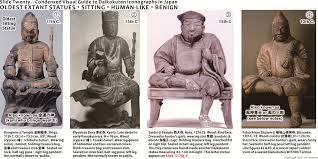 Oldest Japanese Statues Of Seated Form Generally Associated With The Tendai School