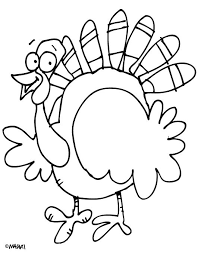 Super Crayons Free Turkey Coloring Pages A Happy