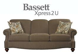 endearing bassett sleeper sofa interiorvues