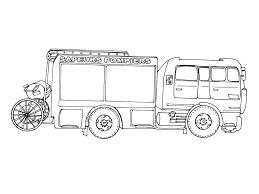 11 Dessins De Coloriage Camion Pompier À Imprimer Tout Coloriage